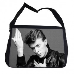 David Bowie messenger väska med axelrem - Messenger Bag