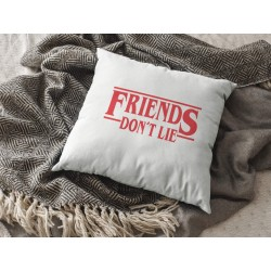 Friends don't lie - Stranger things kuddfodral 50x50 cm