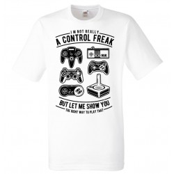 Gamer T-shirt - Control Freak