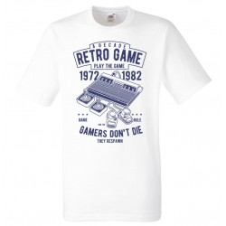 Gamer T-shirt - Retro Game , Atari stil design