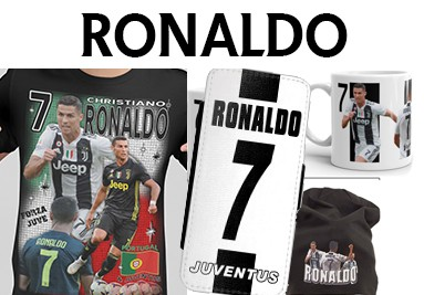 Ronaldo t-shirt iphone fodral & mösssa